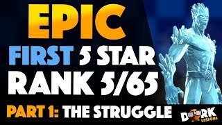 EPIC Road to 5 Star Rank 5 ICEMAN: PART 1 - The Struggle