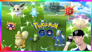 NEW KOREA EVENT! TONS OF SHINIES CAUGHT in Pokemon GO!