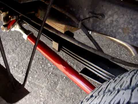 Home Made Traction Bars Youtube