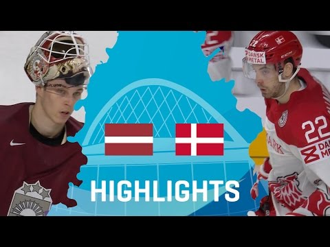 Latvia - Denmark | Highlights | #IIHFWorlds 2017