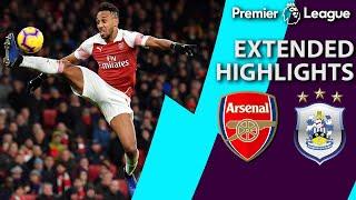 Arsenal v. Huddersfield I PREMIER LEAGUE EXTENDED HIGHLIGHTS I 12/8/18 I NBC Sports
