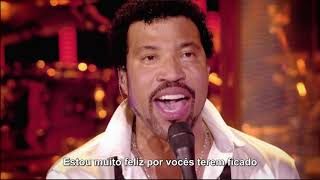 Lionel Richie - Stuck On You (Legendado em PT-BR) Live