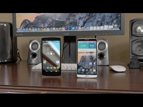 OnePlus One vs LG G3 (4K)