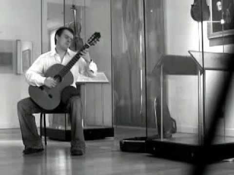 Air Varie by Regondi (Stewart French, guitar)