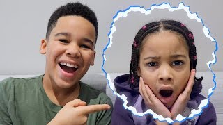 Invisible Kid Prank on Cali