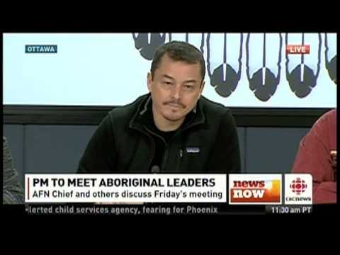 AFN Press conference Jan 10, 2013 Ottawa - CBC News  #idlenomore