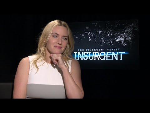 Kate Winslet Talks 'Insurgent', Danny Boyle's 'Steve Jobs' Movie, and More