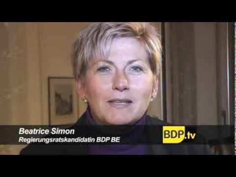 BDP Wahlkampf für Beatrice Simon ist angelaufen, 2009