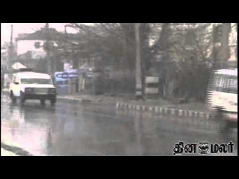 Fresh snowfall in Kashmir - Dinamalar News Dated feb 1st 2015