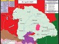 The Hungarian Revolution and War of Independence of 1848 - 1849 (animated map + story)