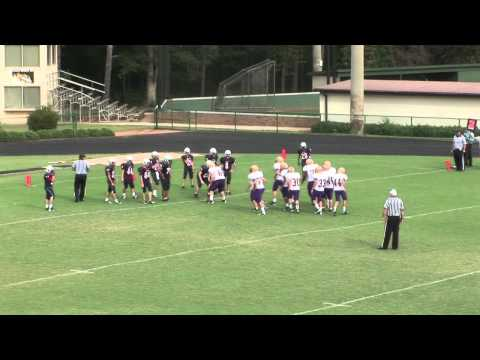 Providence Middle School Football vs Athens Christian Academy, 2012