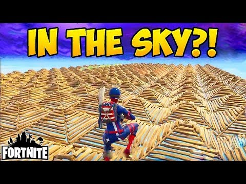 CRAZIEST SKY BASE EVER! - Fortnite Funny Fails and WTF Moments! #104 (Daily Moments)