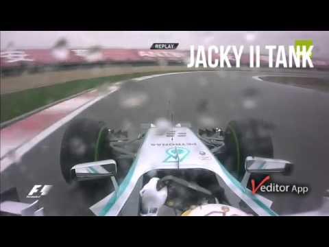 Lewis Hamilton Pole lap China 2014