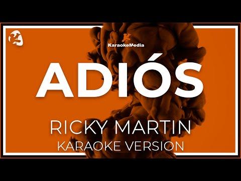 Ricky Martin - Adios (Karaoke)
