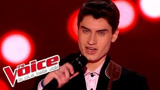 Elvis Presley – Blue Suede Shoes | David Thibault | The Voice France 2015 | Blind Audition