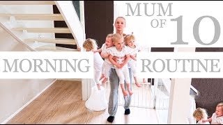 NEW MORNING ROUTINE with 10 CHILDREN