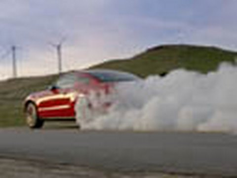 2010 Ford Mustang - Burnout!