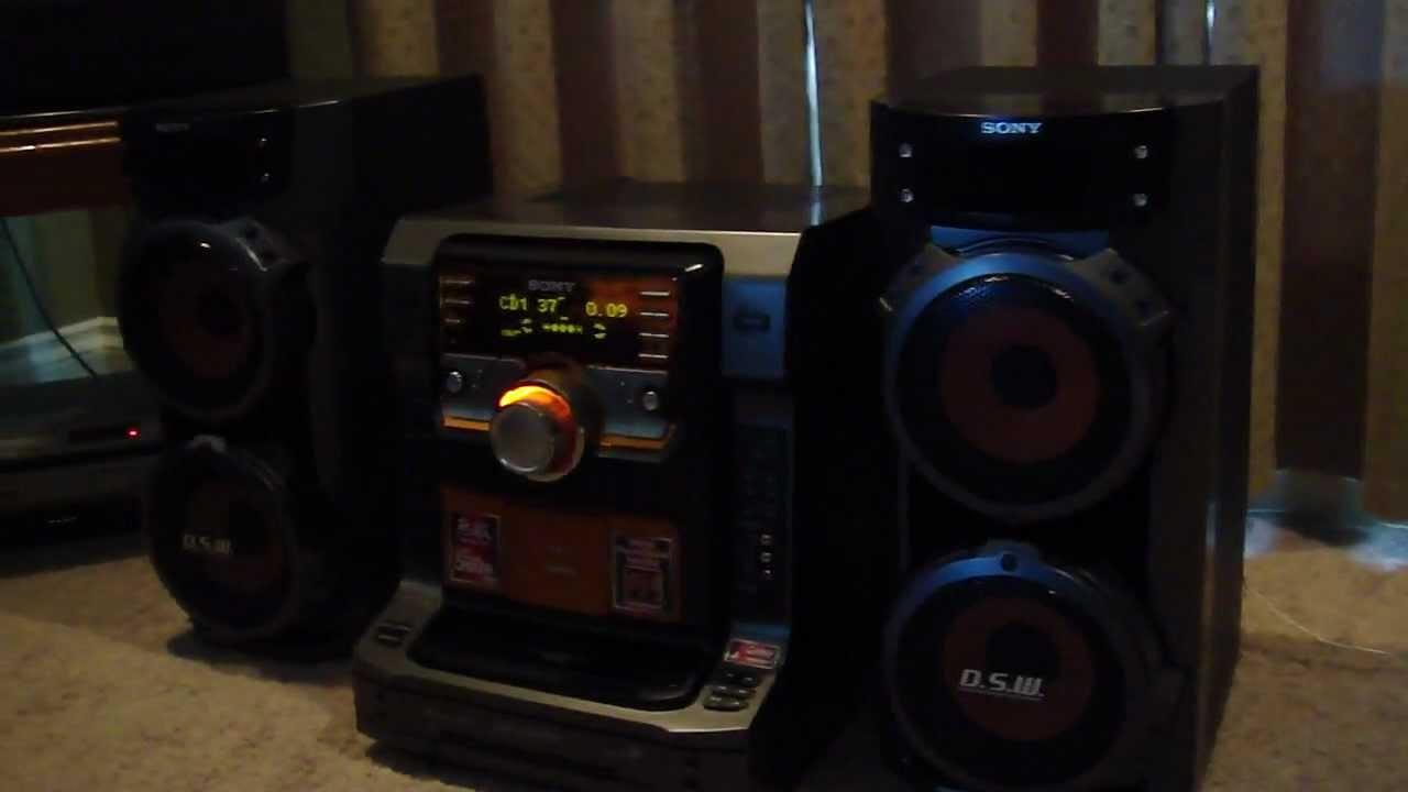 Sony Lbt Zx66i Stereo Youtube