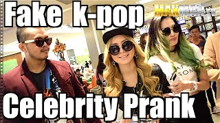 Girls Generation (SNSD) Fake Korean Celebrity Girl Band Prank - Maxmantv
