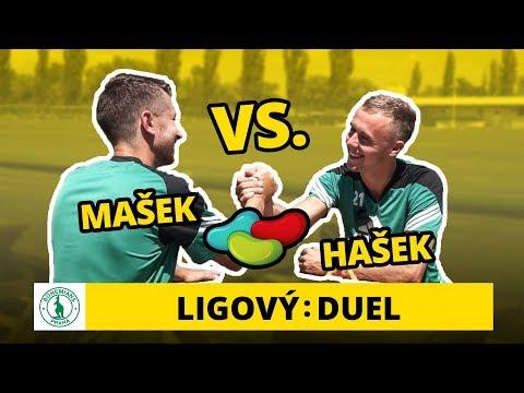 Duel: Martin Hašek s Dominikem Maškem ochutnávají Jelly beans