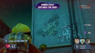 Plants vs Zombies: Garden Warfare - All Your Base Are Belong To Us Easter Egg