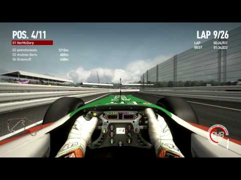 F1 2010 by Codemasters – Force India Pitstop Bug