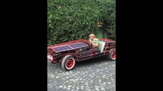 Handmade solar car takes to the street in Addis Ababa