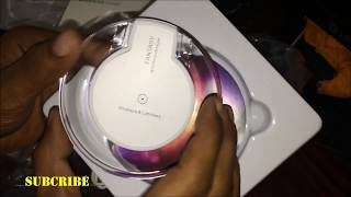 iphone wireless charger: Unboxing of fantasy wireless charger and reciever  for iphone