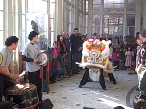 2009 Chinese Lion Dance - Year of the Ox @ Baltimore's Walters Art Museum