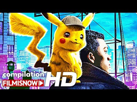 "POKÉMON DETECTIVE PIKACHU ""All-in"" Compilation 