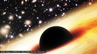 Das größte Schwarze Loch entdeckt! - Clixoom Science & Fiction