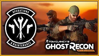 OPERATIONS & MAINTENANCE UPDATE PATCH NOTES | Ghost Recon Wildlands