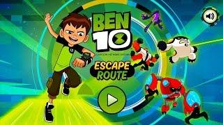 BEN 10 GAME - ESCAPE ROUTE BEN REBOOT 2016 COMENTADO 1080HD