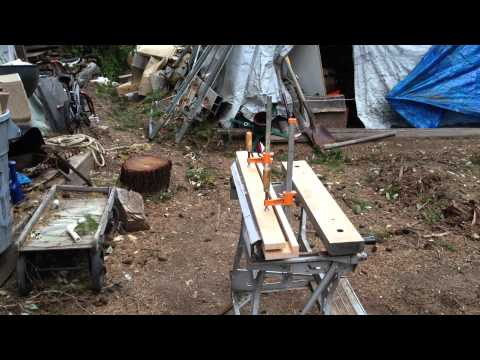 How to Sharpen your Chipper Blades (yourself!)