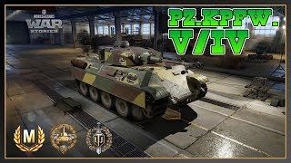 World of Tanks // Pz.Kpfw. V/IV // Ace Tanker // Top Gun // Xbox One