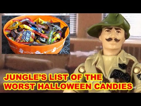 World's Worst Halloween Candy - Action Figure Therapy