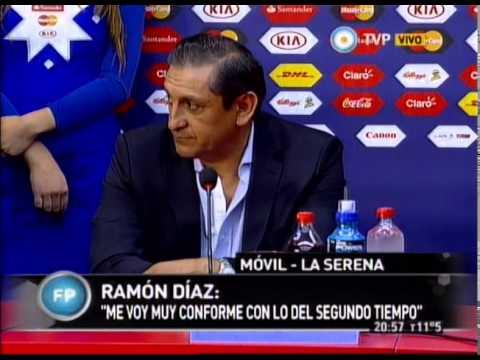 Debate y Conferencia de Prensa de Javier Mascherano, Lionel Messi y Ramon Diaz - 13-06-15