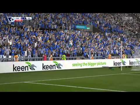 Marc Albrighton vs Swansea City (FIFA15)