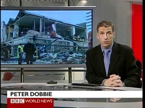 CHRISTCHURCH EARTHQUAKE 04-09-2010 BBC World News