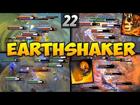 Dota 2 Earthshaker Moments Ep. 22
