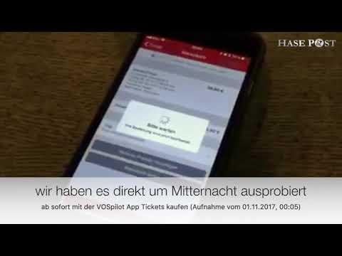 Handyticket mit der VOSpilot App in Osnabrück buchen