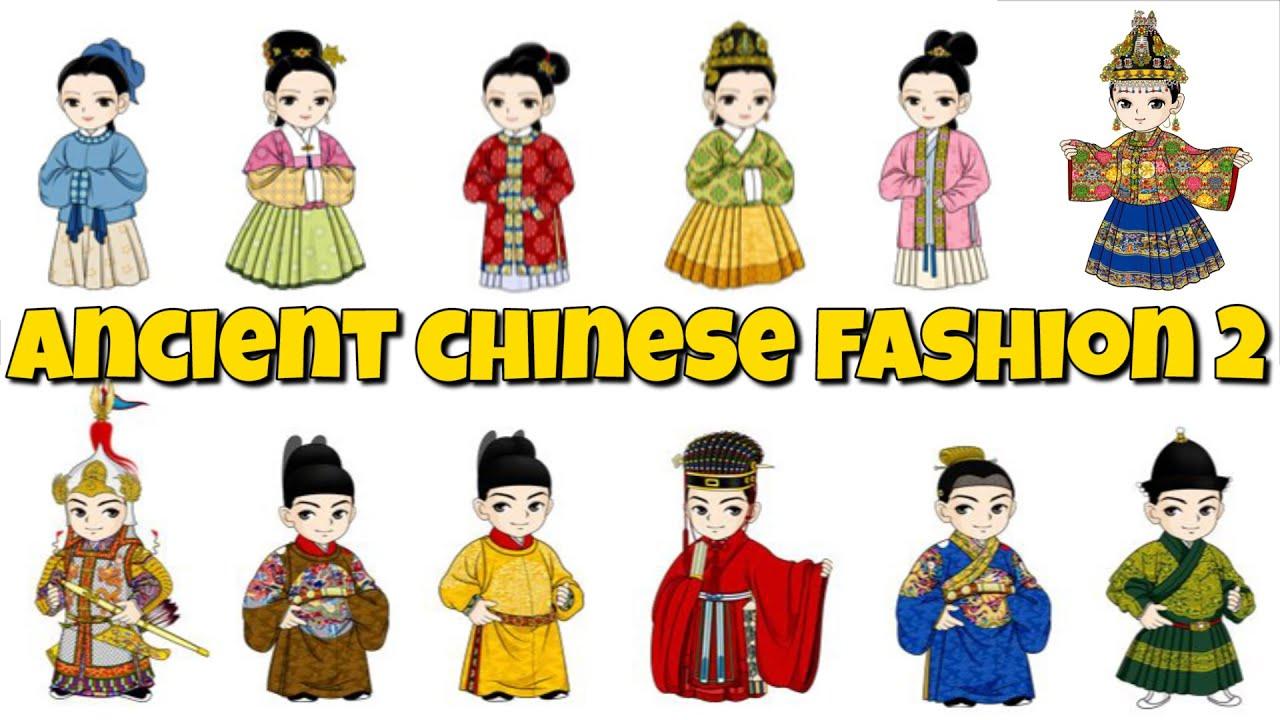 Ancient china fashion clothing 79