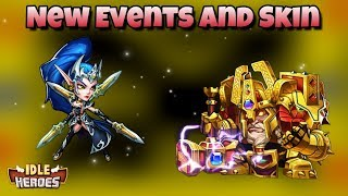 Idle Heroes (O) - New Events and Skin! Shelter Event and Item Exchange