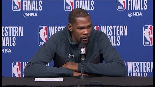 Kevin Durant Postgame Interview - Game 1 | Rockets vs Warriors | May 14, 2018 | 2018 NBA Playoffs