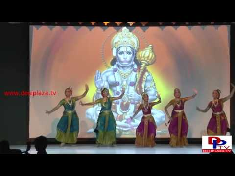 Classical dance by local kids at Telangana Development Forum 1st Global Telanana Convention