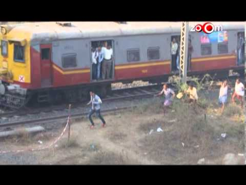 Sharman Joshi miraculously escaped being hit by a train