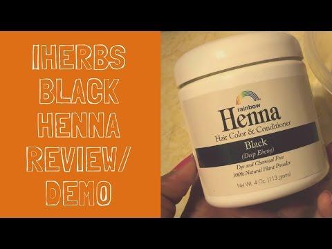 iHerbs Black Henna   Hair Dye Review & Demo   Selena Thinking Out Loud   Plant-Based Hair Dye