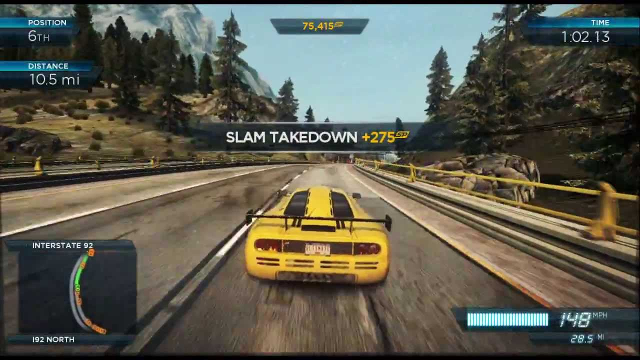 need for speed most wanted u wii u gameplay youtube. Black Bedroom Furniture Sets. Home Design Ideas