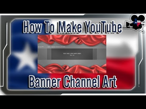 How To Make A YouTube Banner WITHOUT Photoshop! 2018  Pixlr Tutorial | Technical RabbiJi |