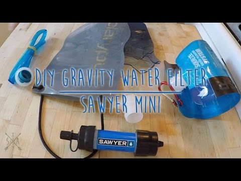 DIY Sawyer Mini Gravity Filter Hack